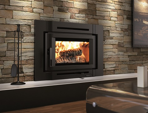 Fireplaces inserts fairfield ct wood insert gas for Contemporary fireplace insert