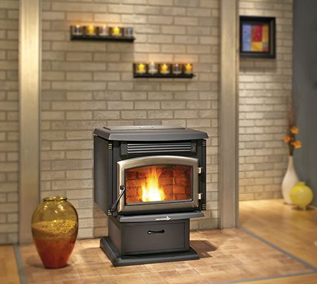 Our hearth store offers the best pellet stoves available. Selling pellet heating stoves to customers in Wilton