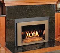 gas fireplace insert in westport ct