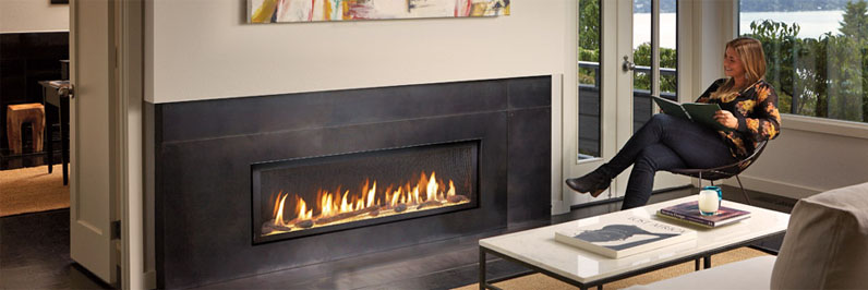 gas fireplace linear fireplace fairfield county,