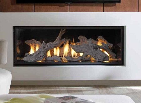 Linear Gas Fireplaces - Wilton CT