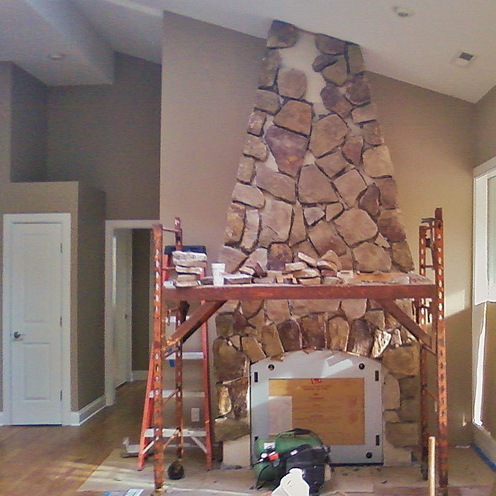 unusual stone fireplace construction and remodeling in port chester ny