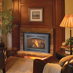 greenwich ct great looking gas burning fireplace insert
