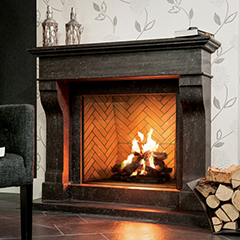 wood burning fireplace in greenwich ct