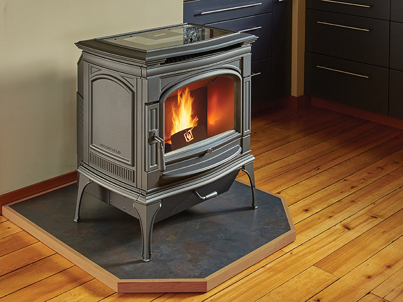 pellet stove by enerzone in fairfield